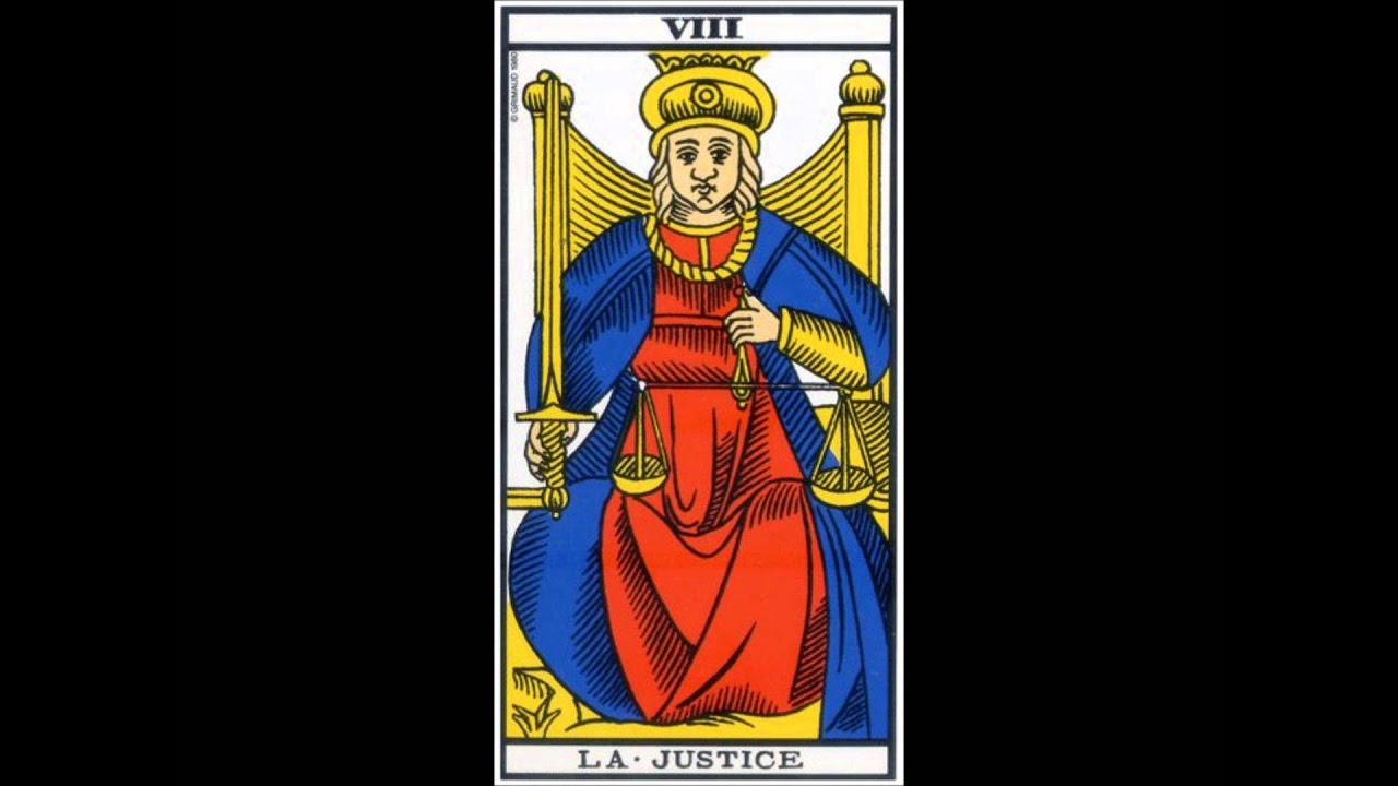 e43a8f717d7cd9 TAROT DE MARSEILLE - 08 La Justice (ASETMEDIUM Voyance, Médium et Voyant  par téléphone 0493944405)