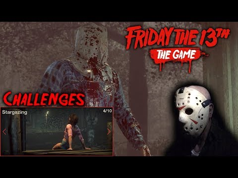 Friday the 13th the game - Gameplay 2.0 - Challenge 4 - Jason part 2
