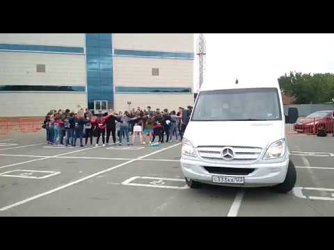 Аренда микроавтобуса Mercedes Sprinter для детских перевозок