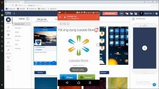 Hướng Dẫn Tạo App Giống Lazada Chỉ Trong 10 Phút Mà Không Cần Viết CODE