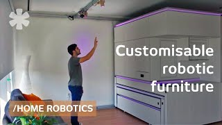 Furniture meets robotics: superpower to show/hide what's used thumbnail