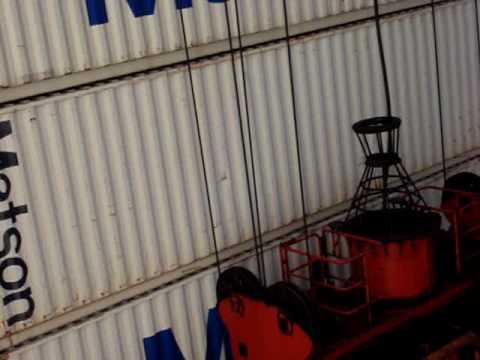 Matson Navigation Mv Maunalei  Discharging cargo in Shanghai China