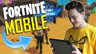 FAST MOBILE BUILDER on iOS / 1460+ Wins / Fortnite Mobile + Tips & Tricks!