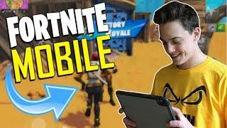 FAST MOBILE BUILDER on iOS / 1460+ Wins / Fortnite Mobile + Tips & Tricks!