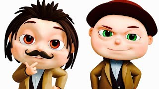 Zool Babies Police (Detective) And Thief Episode | Videogyan Kids Shows | Zool Babies Series