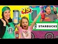 Pretend Play Restaurant Starbucks Vs Soda Burger King Food Truck