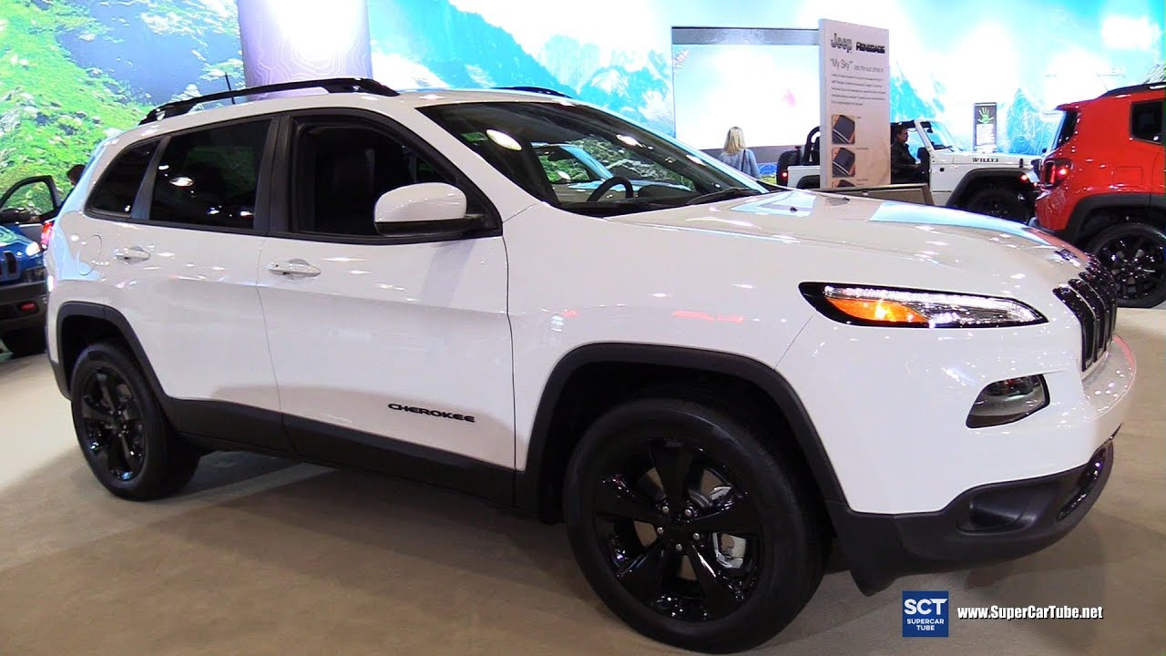 2017 Jeep Cherokee High Alude Exterior And Interior Walkaround New York Auto Show