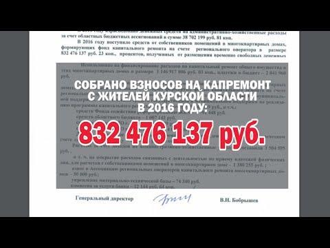 ПОЧЕМУ СНЯЛИ ДИРЕКТОРА КУРСКОГО ФОНДА КАПРЕМОНТА.