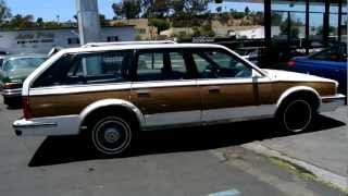 1988 Oldsmobile Cutlass Ciera Cruiser Woody Station Wagon Low Miles