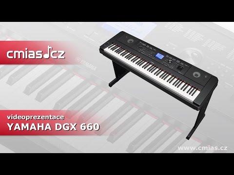 Yamaha DGX 660 (videoprezentace)