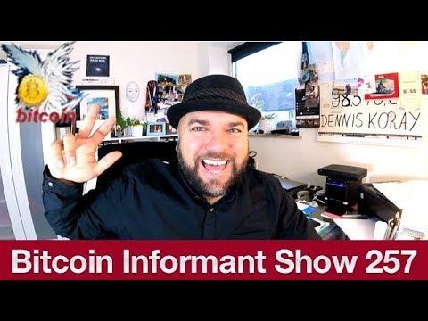 #257 Bitcoin Invest Rückblickend, Bitcoin Cash Debit Karte & Chinesischer Wal Kauft F1 Flotte