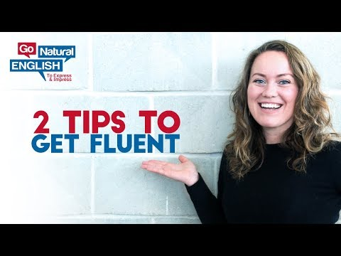 2 things you must do more if you want to be fluent in English [FB Live]