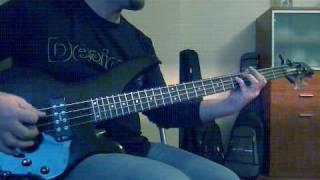 Impaled nazarene - Armageddon death squad (bass cover)