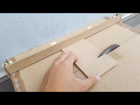 How to make a mini Table Saw // part 2