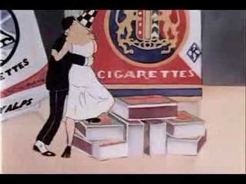 Fred Astaire and Ginger Rogers Cartoon