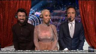 maks and amber on dwts all access with dominic season 23 week 1
