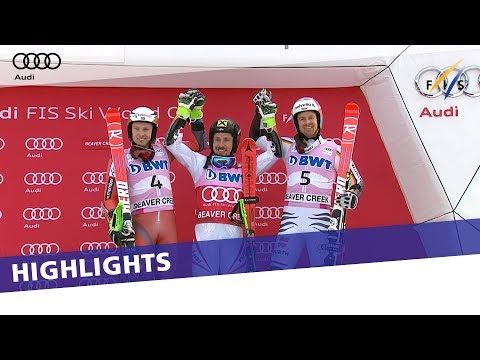 Highlights | Hirscher storms back to win in Giant Slalom at Beaver | FIS Alpine
