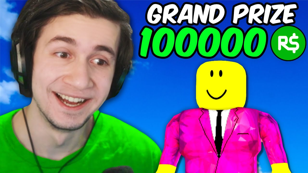 100000 Robux Roblox Event