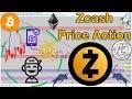 Zcash (ZEC/BTC) + BTC/ETH/LTC Technical Analysis!
