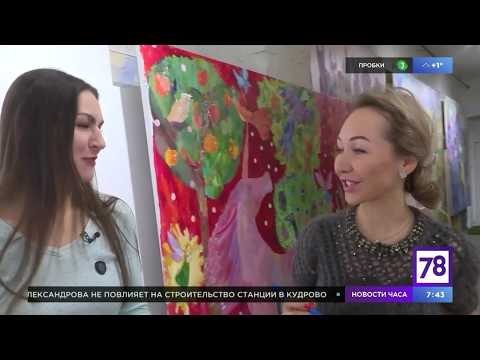 """Огромные новогодние открытки в """"Полезном утре"""""""