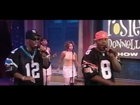 Puff Daddy & Mase Appearance On Rosie O' Donnell (1997)