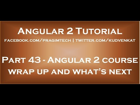 angular-2-course-wrap-up-and-what's-next
