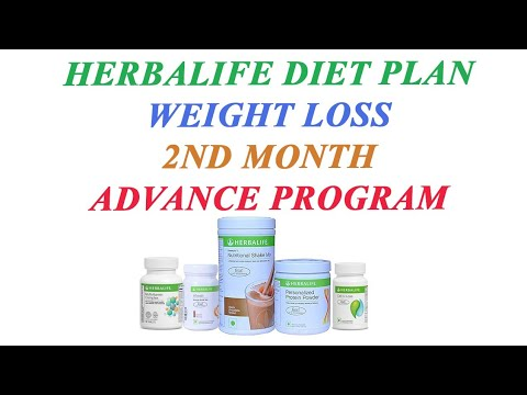 [Hindi] Herbalife 2nd Month Weight Loss Diet Plan(Advance Program) thumbnail