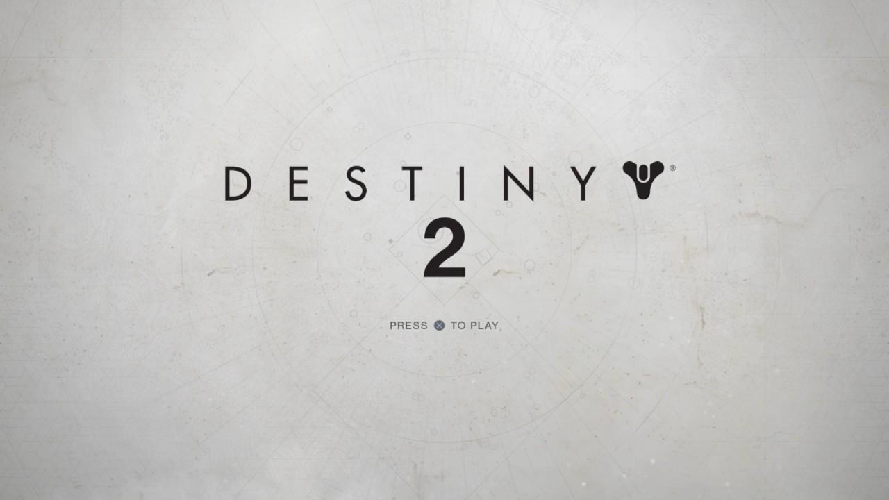 Destiny 2 Title Screen Music