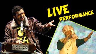 Music Director Avdhoot Gupte's Live Performance On Yed Lagala Marathi song - Ek Taraa - Music Launch
