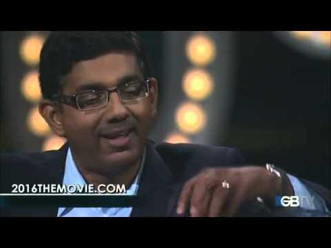 """2016: OBAMA'S AMERICA:,  Dinesh D'Souza's with Glenn Beck on GBTV"