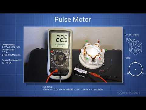 Pulse Motor - Very Low Current - DIY
