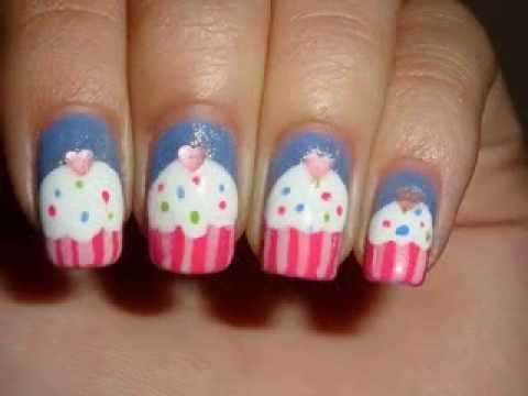 Cool nail art ideas for kids - YouTube