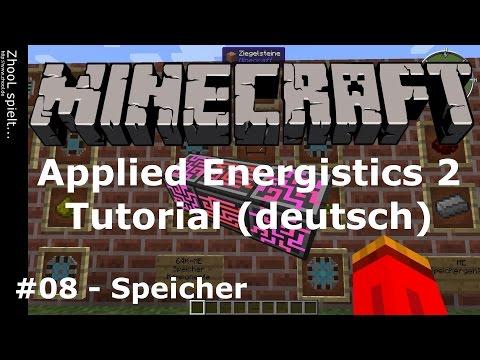 Minecraft - Applied Energistics 2 - Tutorial #08 - Speicher [deutsch / german]