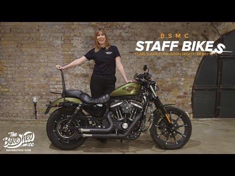 Staff Bike: Clare's Harley-Davidson Sportster 883