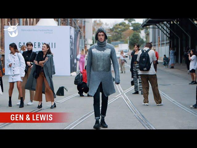 Gen and Lewis crash Fashion Week