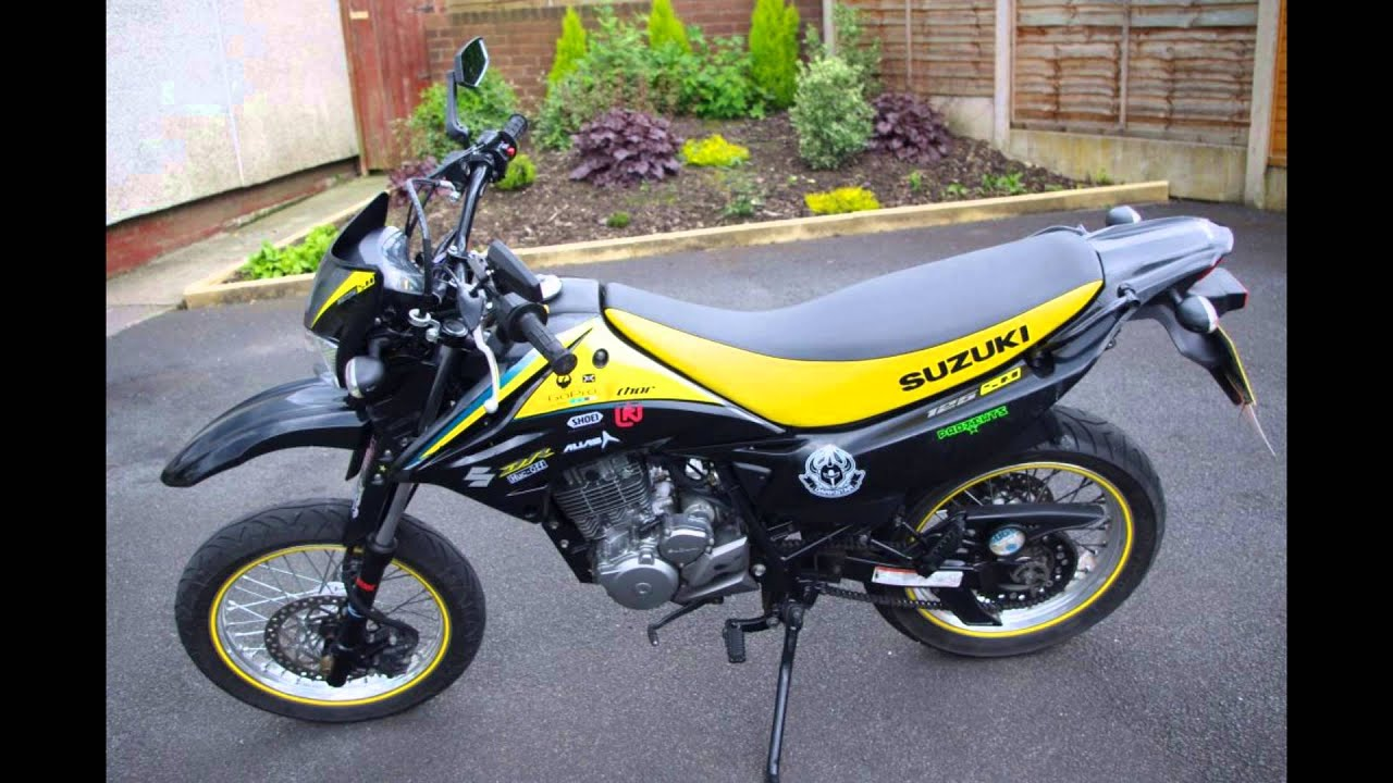 suzuki dr125 sm k9 my modifications since buying the. Black Bedroom Furniture Sets. Home Design Ideas