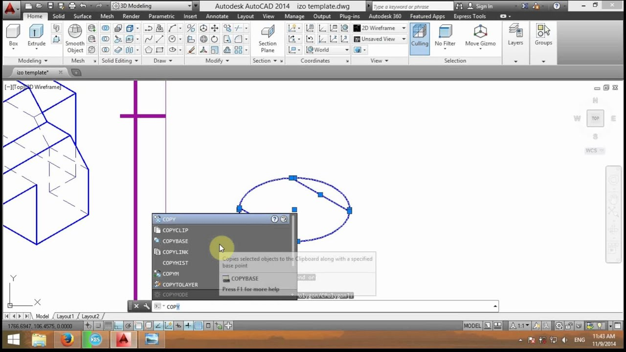 tutorial autocad 009 izometrie 1 2 5d youtube rh youtube com AutoCAD Instruction Manual 2014 AutoCAD Instruction Manual
