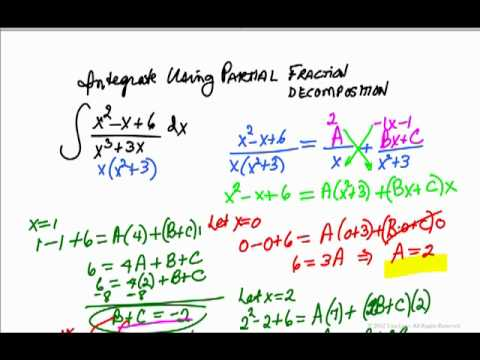 Integrate by Partial Fractions.mov