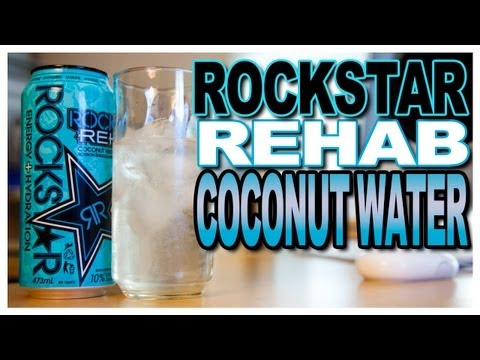 NEW! Rockstar Rehab Coconut Water