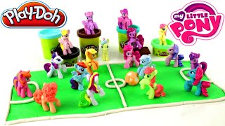 ♥ My Little Pony Friendship Is Magic Play Doh Football Playground My Little Pony Football Team