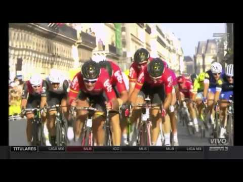 André Greipel wins the last stage Tour de France 2016