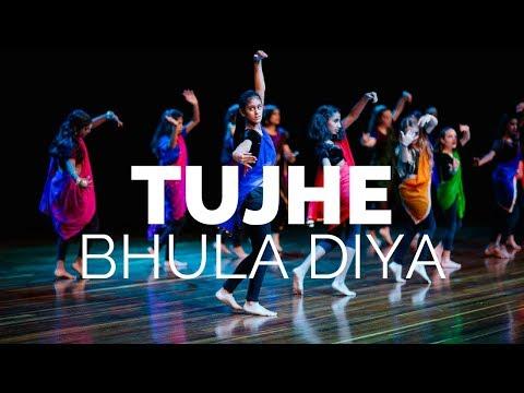 Tujhe Bhula Diya Dance | Contemporary Bollywood | Choreo by Elena Dias-Jayasinha