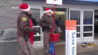 The Salvation Army's Red Kettle Campaign lagging behind goal