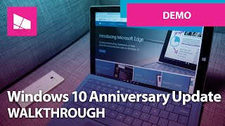 Windows 10 Anniversary Update - Official Release Demo(, 2016-07-25T13:00:31.000Z)