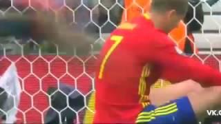 Espanha 1 x 0 Republica Tcheca Euro 2016 Highlights.