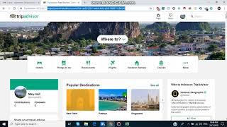 كيفية إنشاء حساب في موقع TripAdvisor / الاشتراك TripAdvisor / محمد أمين