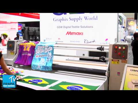 GSW's Rob Franco discusses new launches, market trends and show experience at FESPA Africa 2014