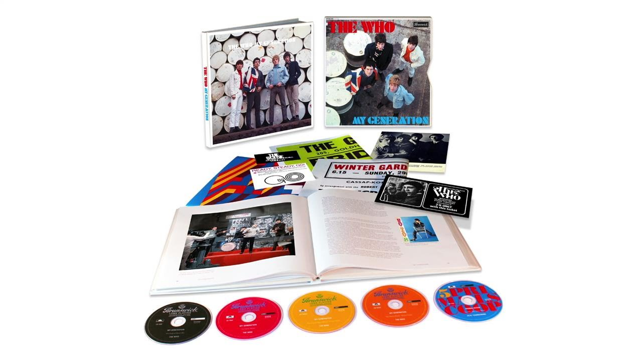The Who's Pete Townshend on 'My Generation' Box Set
