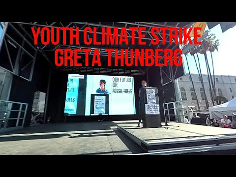 Youth Climate Strike With Greta Thunberg VR