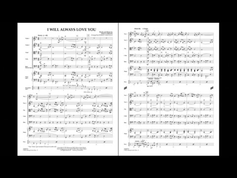 I Will Always Love You by Dolly Parton/arr. Robert Longfield